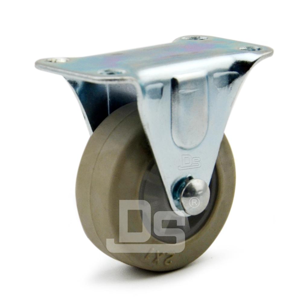 DS10系列 TPE弹性体 轻型  静音脚轮 定向脚轮(载重量:40kg)