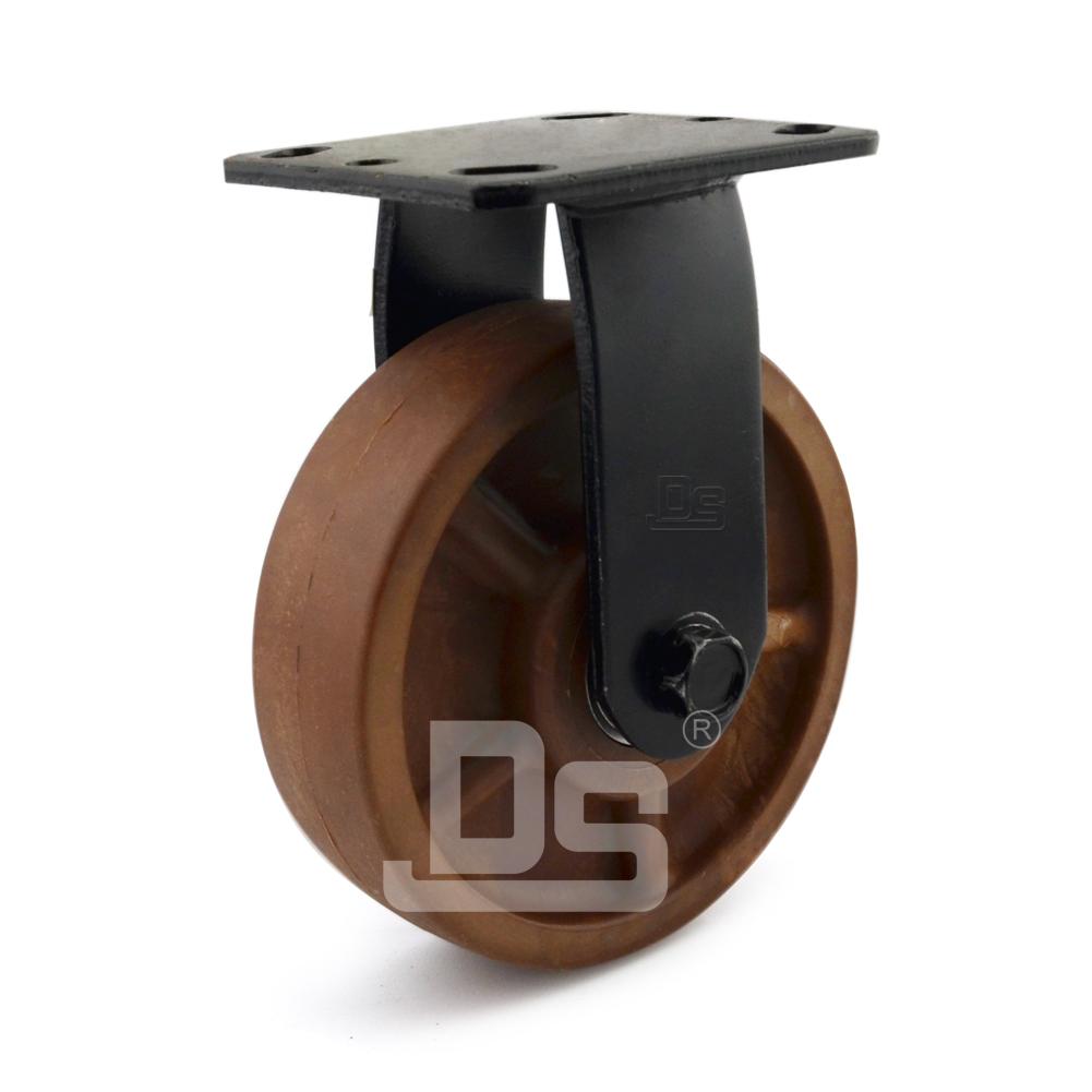 DS40系列 耐高温脚轮(280°)   重型  工业物流  定向脚轮