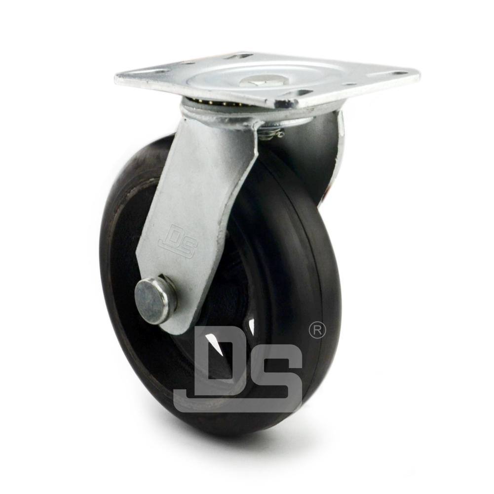 DS42系列  铁芯橡胶 重型 转向脚轮(载重量:220~320kg)