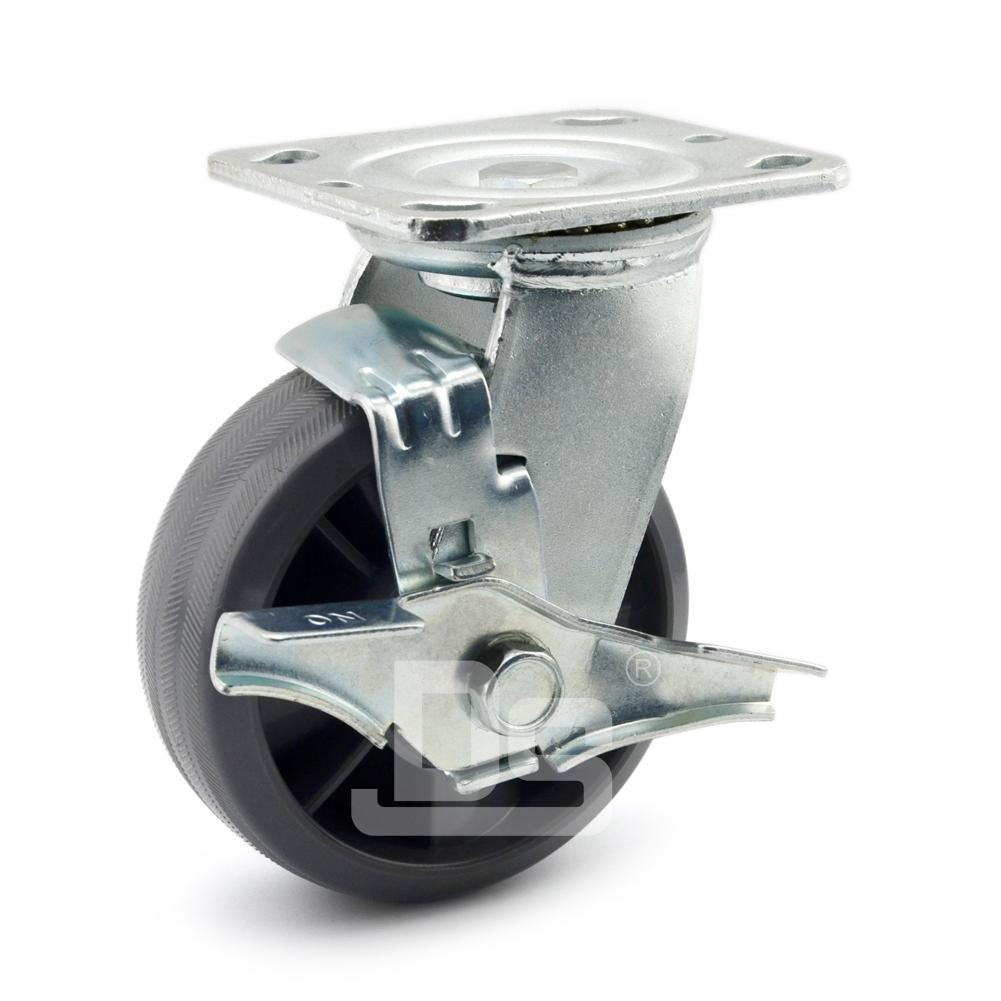 DS40系列 尼龙轮  重型 工业物流 边刹脚轮(载重量200-280kg)