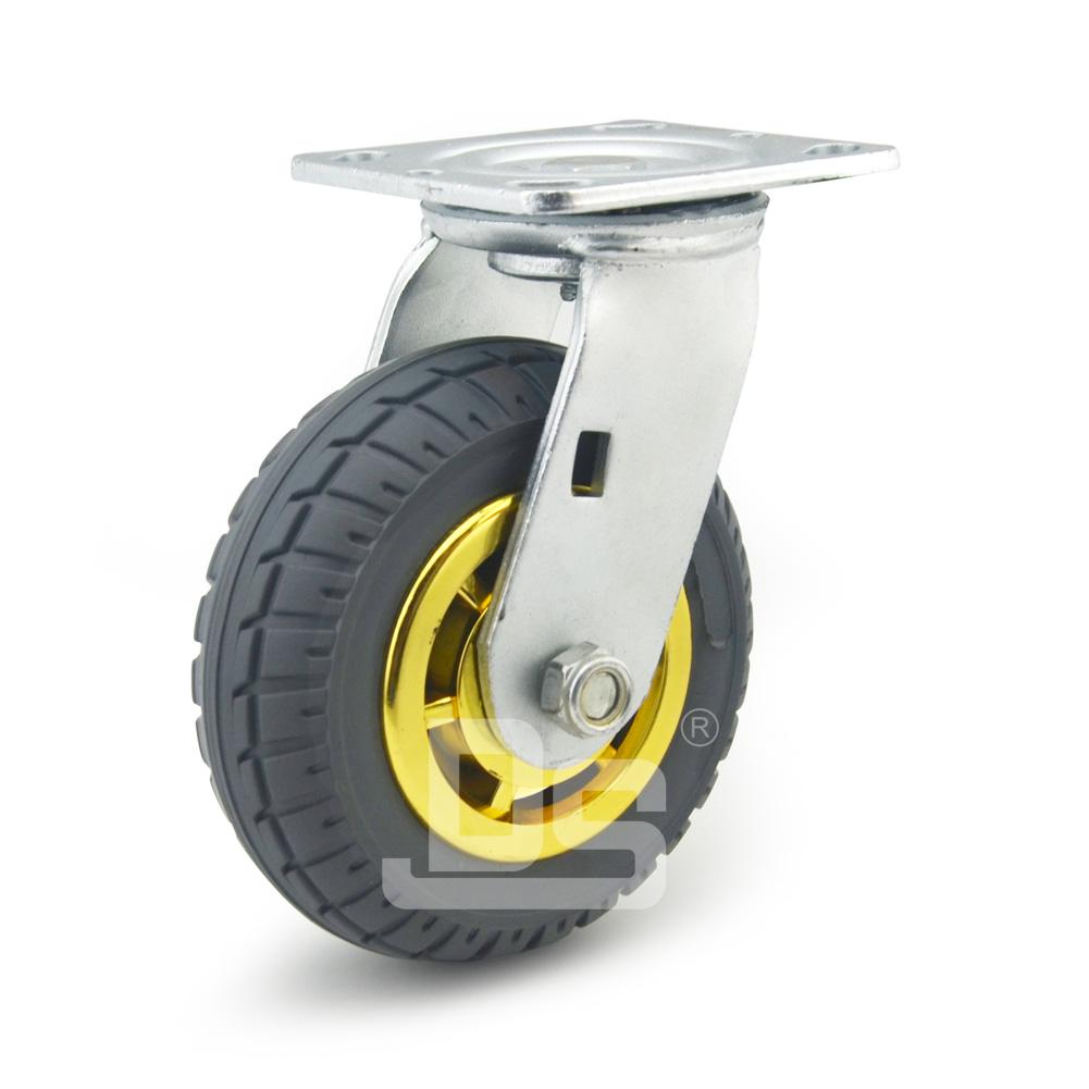 DS40系列 发泡橡胶脚轮重型 工业物流 转向脚轮(载重量:120~240kg)