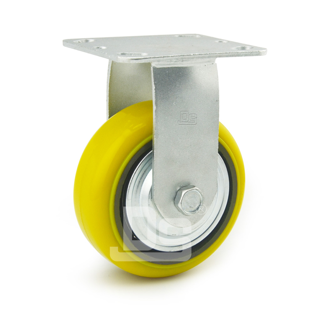 DS41系列 铁芯高载重聚氨酯 重型 工业物流 定向脚轮(载重量:450~600k0