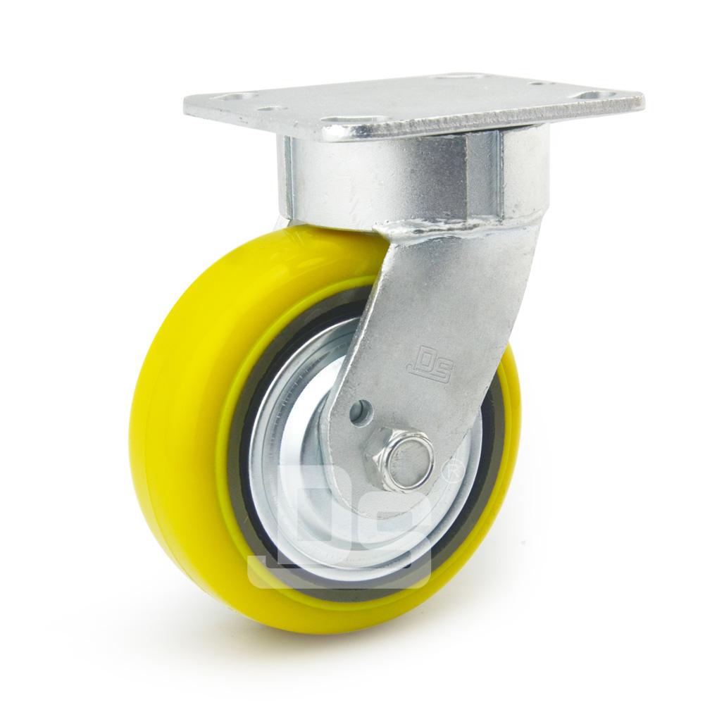 DS45系列 铁芯高载重抗冲击聚氨酯 重型 工业物流 转向脚轮(载重量450~6000kg)