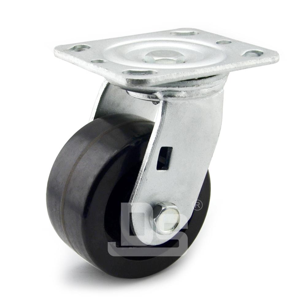 DS40系列 耐高温脚轮 (150°) 重型 工业物流 转向脚轮