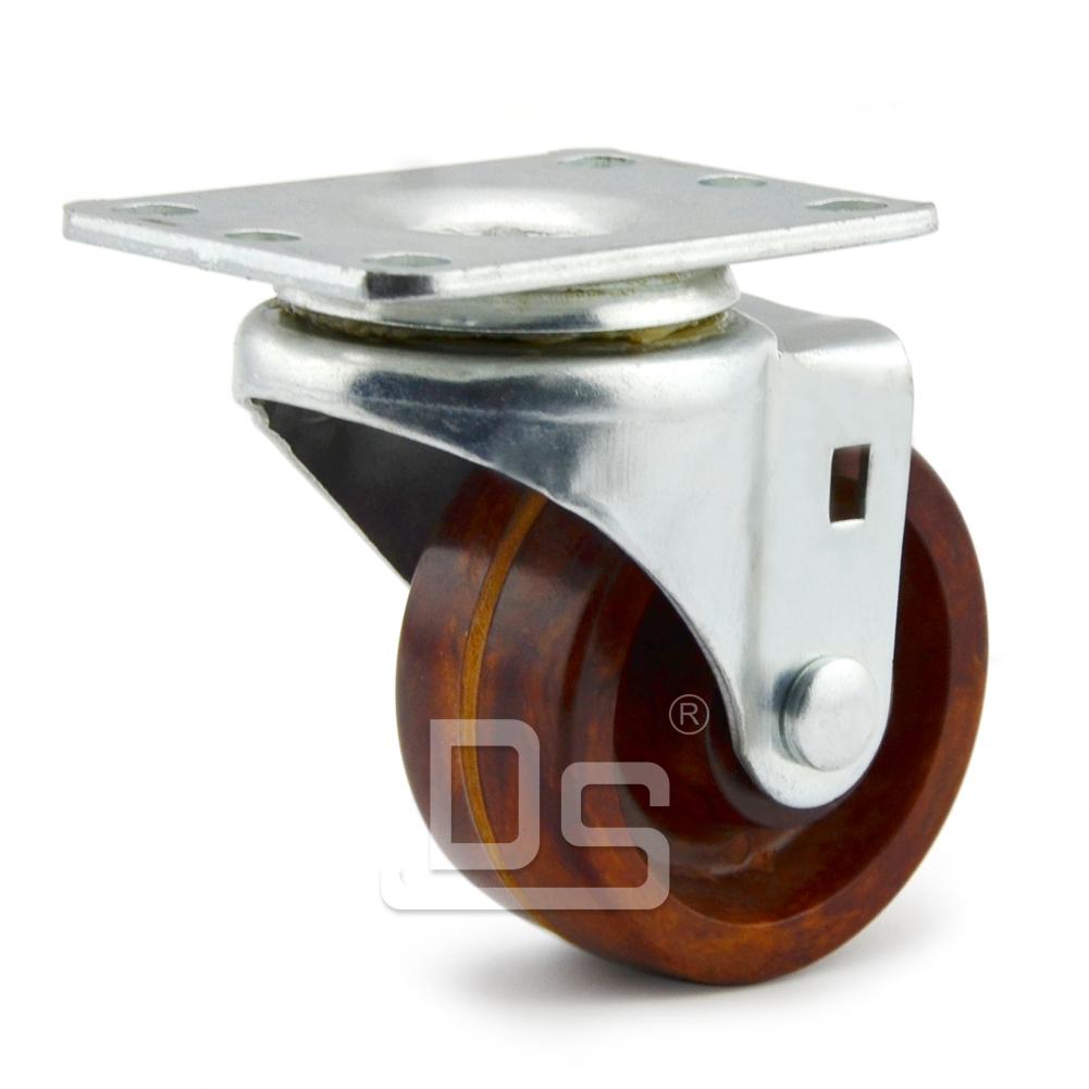 DS20系列 耐高温脚轮(260°) 轻型  转向脚轮(载重量:115~140kg)
